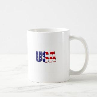 Diseño de encargo del logotipo de los E.E.U.U. Tazas