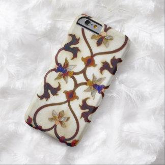 Diseño de enrejado floral funda para iPhone 6 barely there