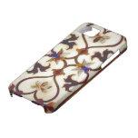 Diseño de enrejado floral iPhone 5 Case-Mate cárcasa