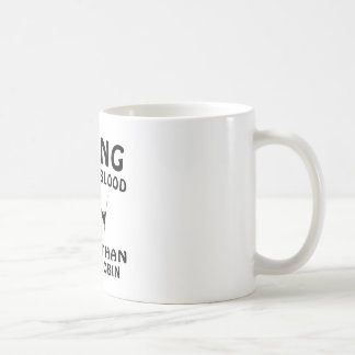 Diseño de esquí taza de café