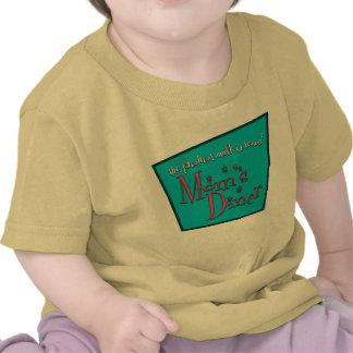 Diseño de Favorable-Amamantamiento retro del Camiseta