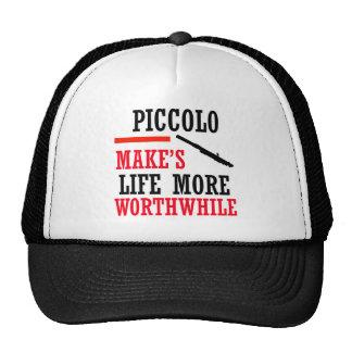 diseño de flautín gorras de camionero