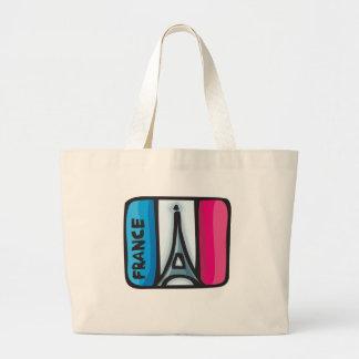 Diseño de Francia Bolsa De Mano