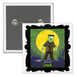 Diseño de Frankenstein Halloween Pins
