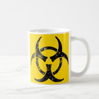Diseño de gran tamaño del Biohazard Taza Clásica
