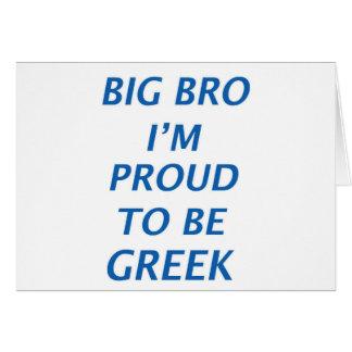 Diseño de Grecia Tarjeta De Felicitación