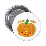 Diseño de Halloween de la calabaza de la linterna  Pin