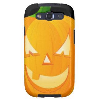 Diseño de Halloween de la calabaza Galaxy S3 Cárcasas