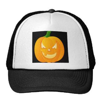 Diseño de Halloween de la calabaza Gorros