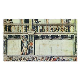 Diseño de Hans Holbein- para la decoración de la f Tarjetas De Negocios