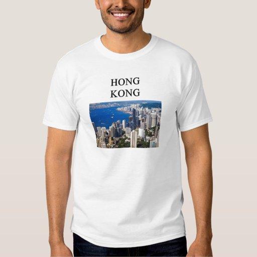 diseño de Hong-Kong Polera