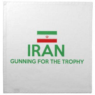 diseño de Irán Servilleta