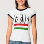 ¡Diseño de Italia! Playeras