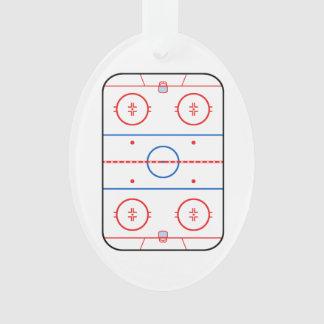 Diseño de juego de hockey del diagrama de la pista