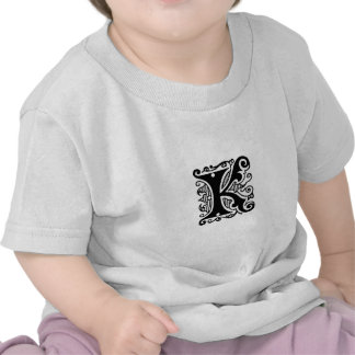 Diseño de K Camiseta