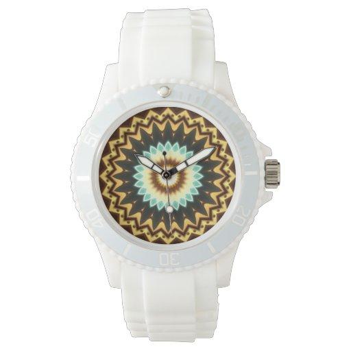 Diseño de Kaliedoscope Relojes De Mano