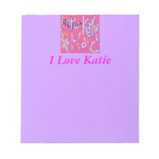 Diseño de Katie Libretas Para Notas