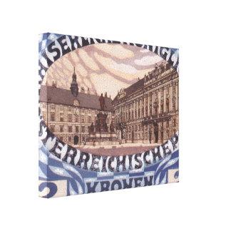 Diseño de Koloman Moser- para el sello austríaco d Lienzo Envuelto Para Galerías