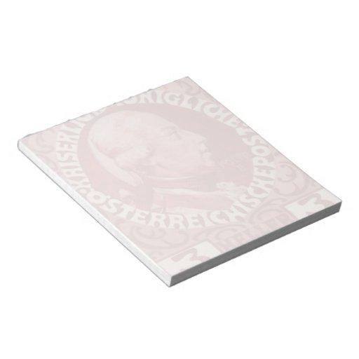 Diseño de Koloman Moser- para el sello del anivers Bloc De Papel