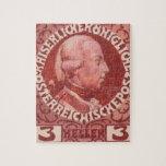 Diseño de Koloman Moser- para el sello del anivers Rompecabezas