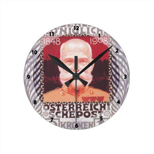 Diseño de Koloman Moser- para el sello del anivers Reloj