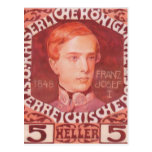 Diseño de Koloman Moser- para el sello del anivers Postal
