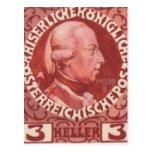 Diseño de Koloman Moser- para el sello del anivers Tarjeta Postal