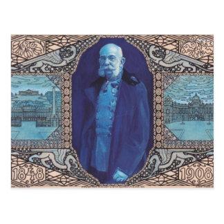 Diseño de Koloman Moser- para la tarjeta del anive Tarjetas Postales