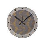 Diseño de Koloman Moser- para la tela Reloj