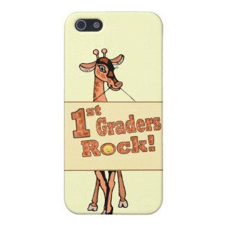 """Diseño de la """"1ra roca de los graduadores"""" de la j iPhone 5 cárcasa"""