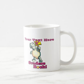 """Diseño de la """"3ro roca de los graduadores"""" de la t taza de café"""