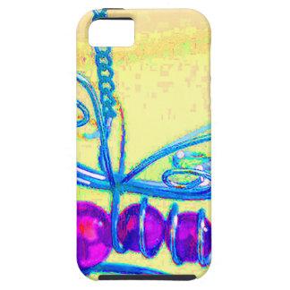diseño de la abeja iPhone 5 fundas