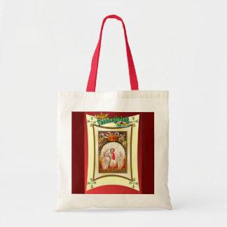 Diseño de la acción de gracias del vintage bolsas de mano