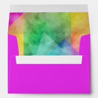 Diseño de la acuarela del bloque del color de Mitz