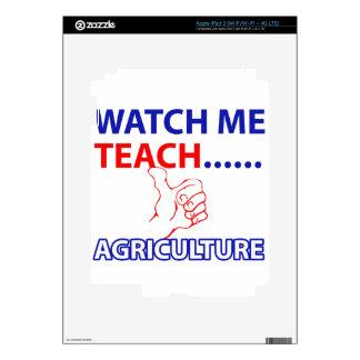 Diseño de la agricultura pegatinas skins para iPad 3