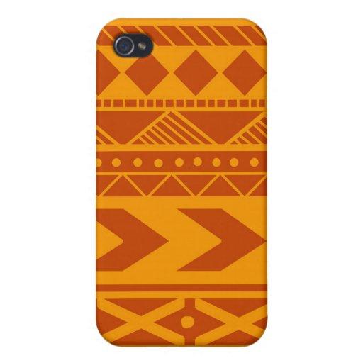 Diseño de la aguafuerte de Makuk de la corteza de  iPhone 4 Cárcasa