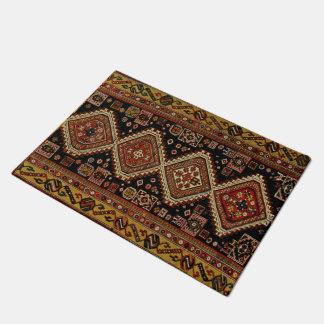 Diseño de la alfombra de Kabristan Felpudo