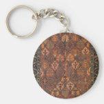 Diseño de la alfombra llavero