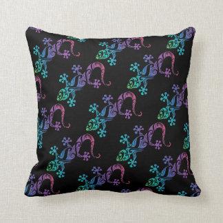 diseño de la almohada del gecko