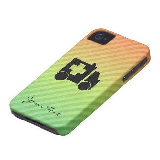 Diseño de la ambulancia iPhone 4 Case-Mate carcasas