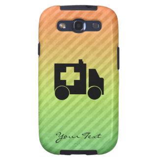 Diseño de la ambulancia samsung galaxy SIII funda