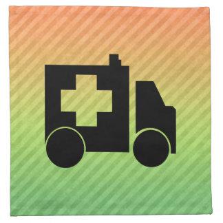 Diseño de la ambulancia servilletas