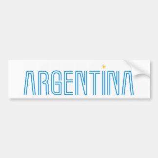 ¡Diseño de la Argentina! Pegatina Para Auto