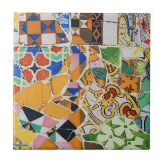 Diseño de la baldosa cerámica de Gaudi Azulejos Cerámicos