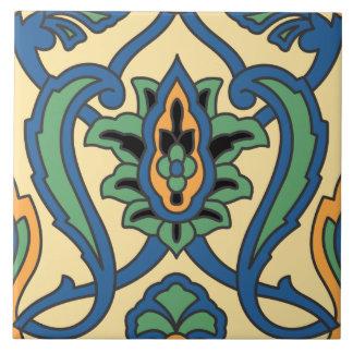 Diseño de la baldosa cerámica de la isla de Catali Azulejo Cuadrado Grande