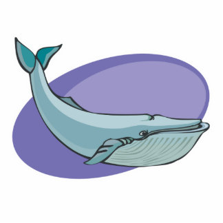 diseño de la ballena azul esculturas fotograficas