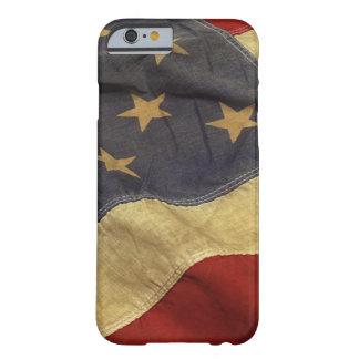 Diseño de la bandera americana funda de iPhone 6 barely there