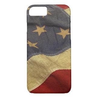 Diseño de la bandera americana funda iPhone 7