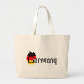 ¡Diseño de la bandera de Alemania! Bolsa Tela Grande