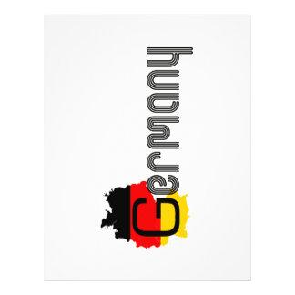 ¡Diseño de la bandera de Alemania! Tarjeta Publicitaria